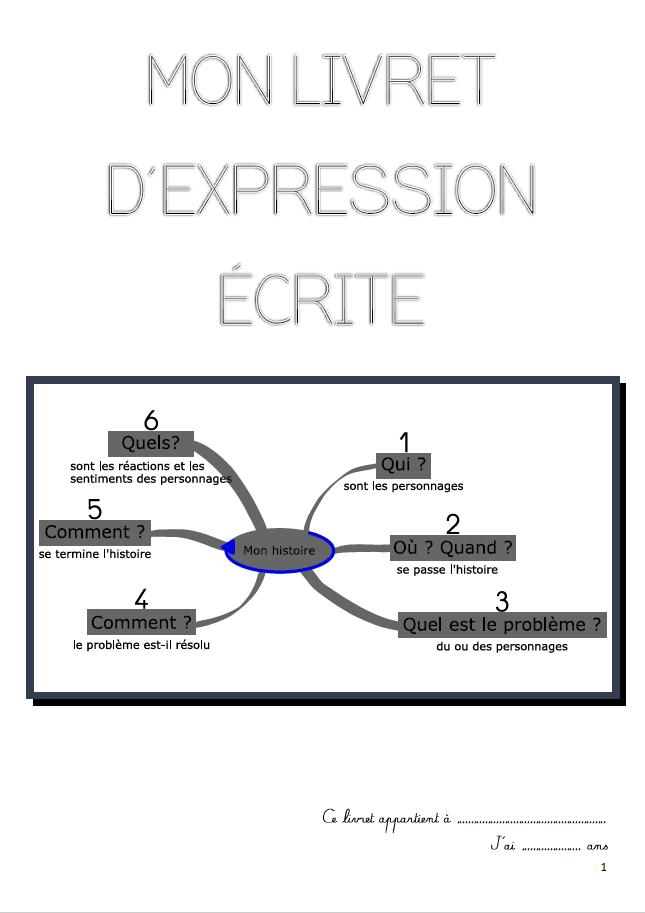 expression ecrite montessori