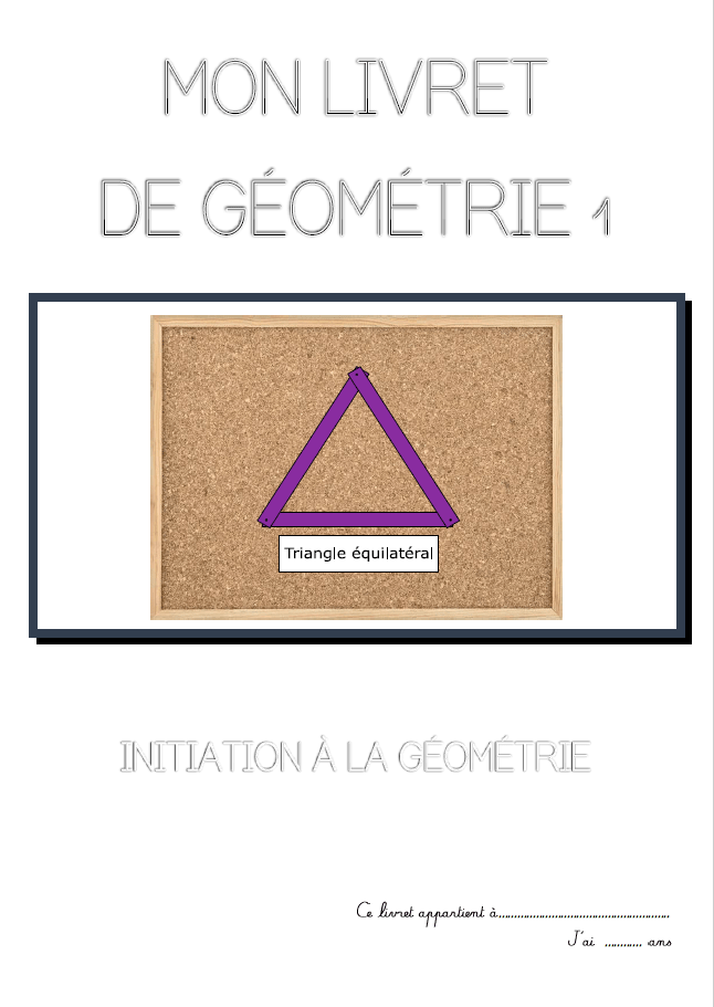 géométrie montessori