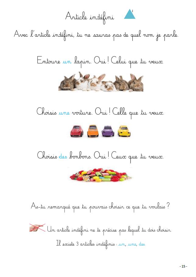 livre montessori grammaire