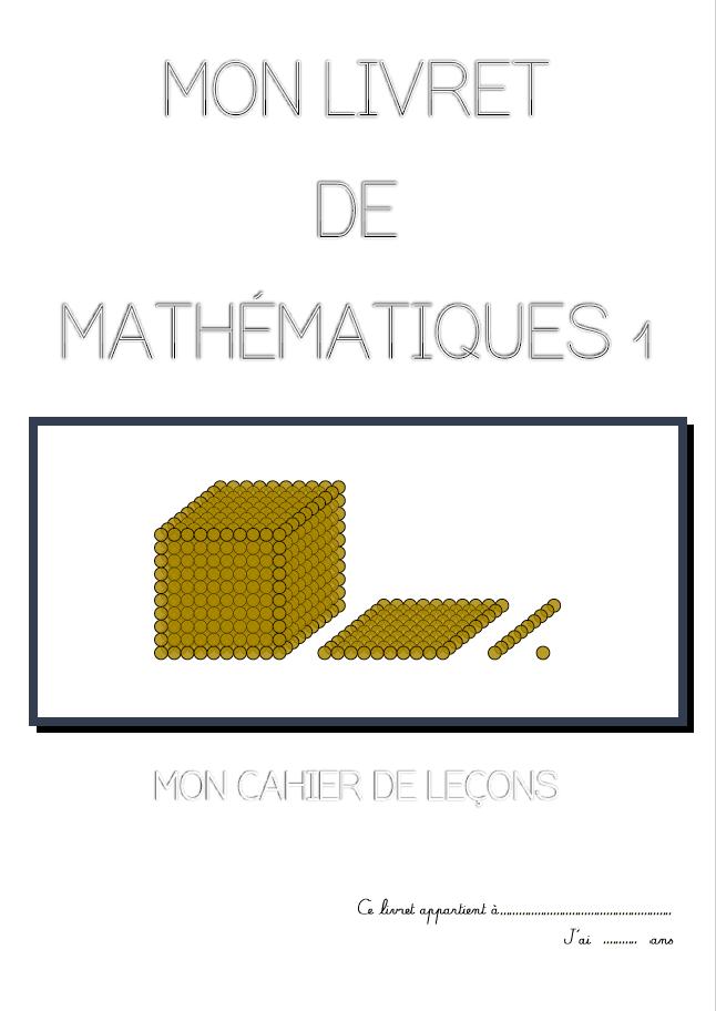 livre montessori mathématique