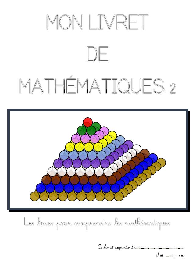 livre mathématiques montessori